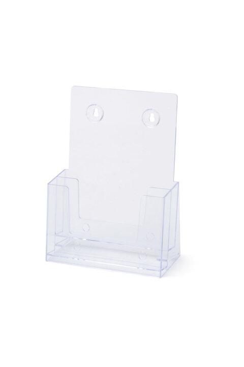 Chłodny Kieszeń na ulotki A5 (2xA5) na biurko lub ścianę Stojak na ulotki GD53